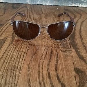 Ray Ban Sunglasses RB 3519 brown Polarized